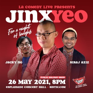 LA Comedy Live presents Jinx Yeo @ Esplanade Concert Hall