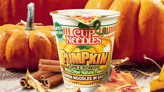 Pumpkin Spice Cup Noodles