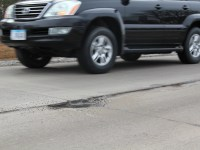 Potholes along DMACC Boulevard to be fixed soon