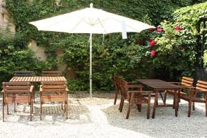 Foto del giardino di Campus Coworking Milano