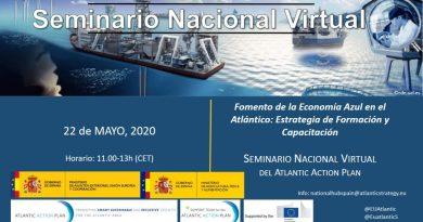 CEI·Mar participa en el II Seminario Nacional sobre Economía Azul organizado por el Hub Nacional Atlántico