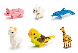 animales con lego