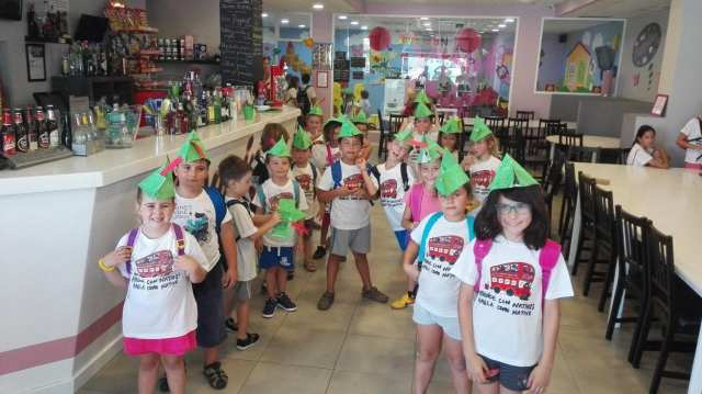 Robin hood hats at English summer camp