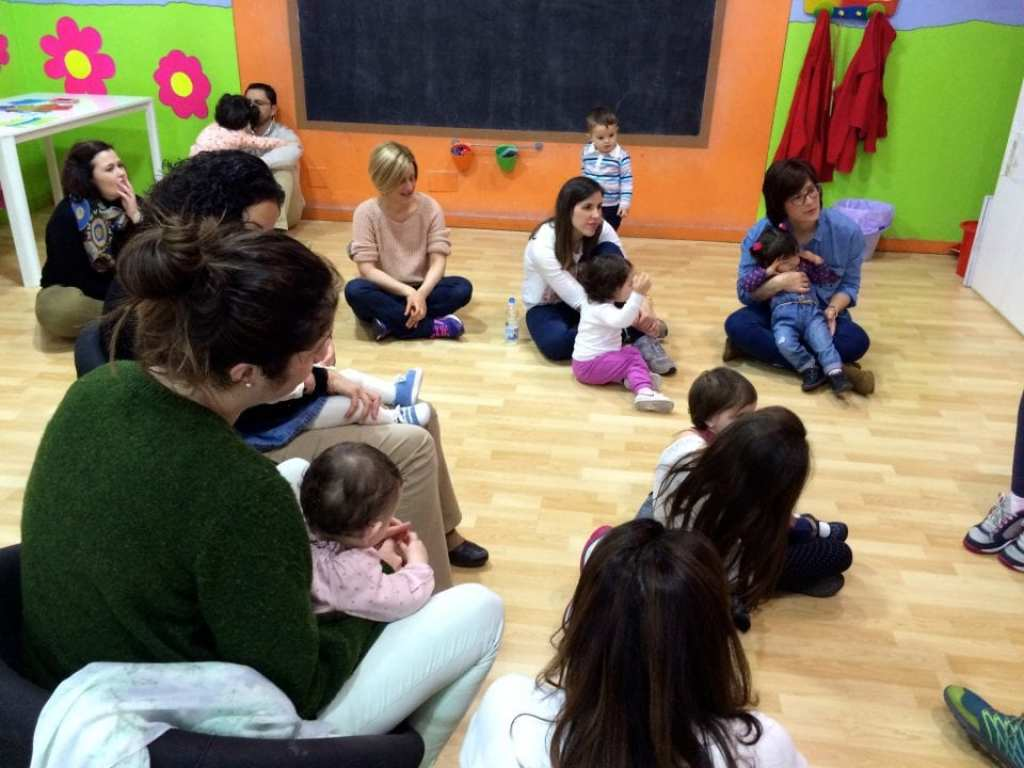 in the baby class