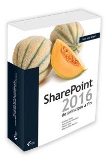 Libro de SharePoint 2016, representado en 3D