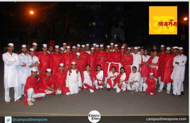 Awartan-dhol-tasha-pathak-nigdi-pradhikaran-group-photo