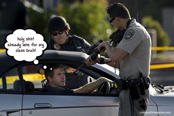 Cops-in-California-State-University