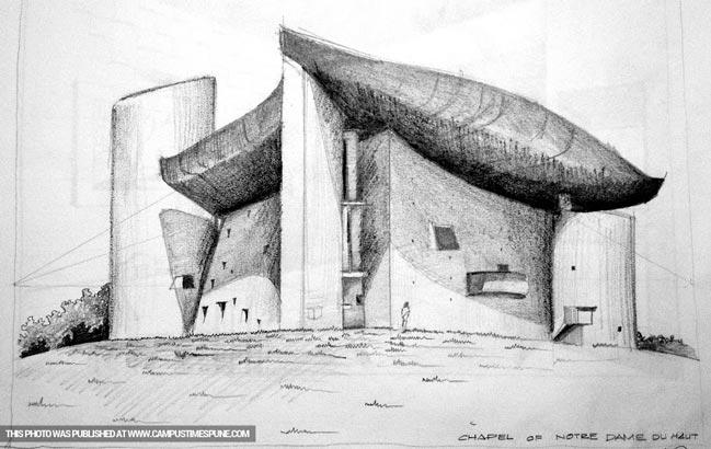 chapel-of-notre-dame-sketch