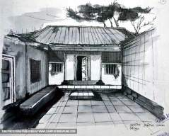 old-hut-pencil-sketch