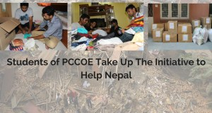 nepal earthquakes pccoe students