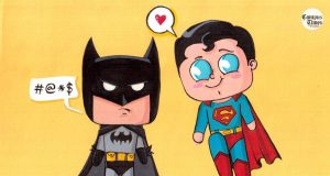 Cute-Superhero-and-Villian-Chibi-Cartoons