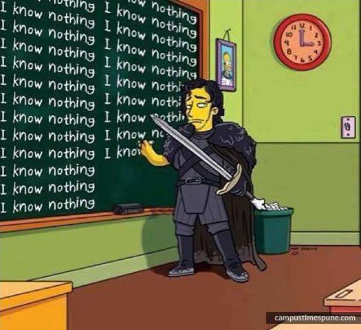 Jon-Snow-knows-nothing-like-an-engineering-student-cartoon