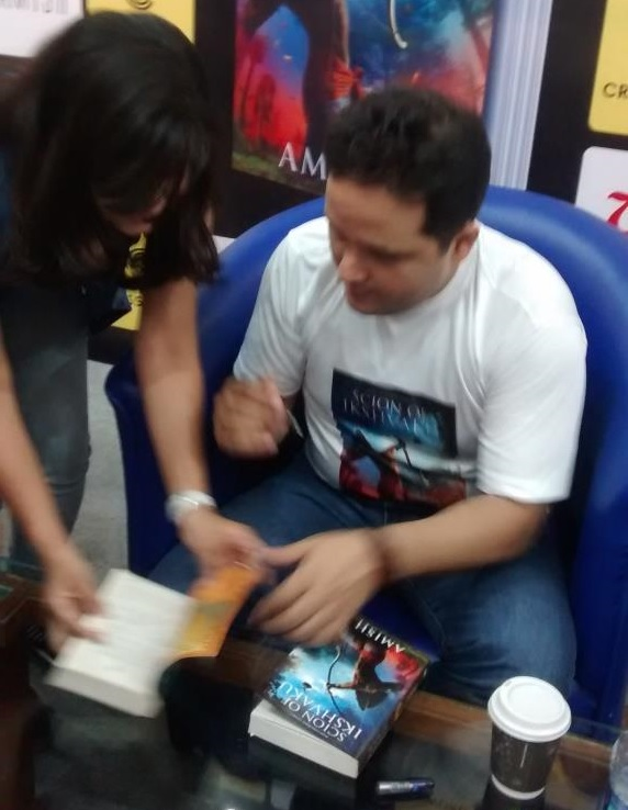 best selling author india amish tripathi samira kulkarni