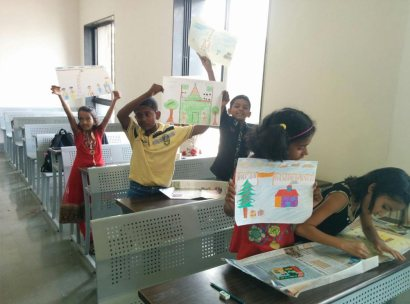 COEP-MindSpark-Drawing-Competition-Participants-with-PuneLearns