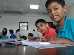 COEP-MindSpark-Drawing-Competition-kids-with-PuneLearns