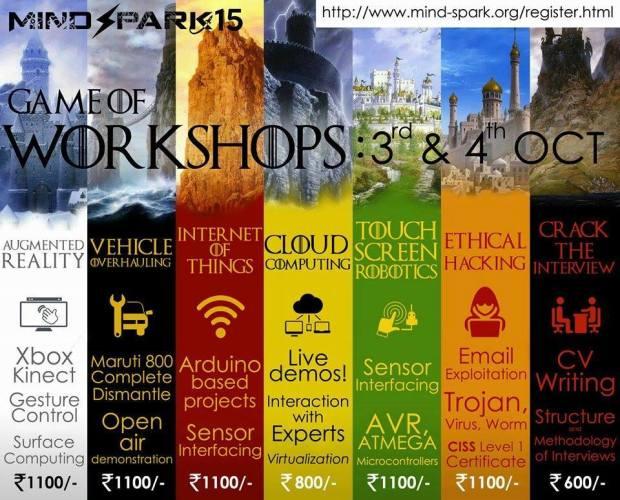COEP-Mindspark15-Game-of-Workshops