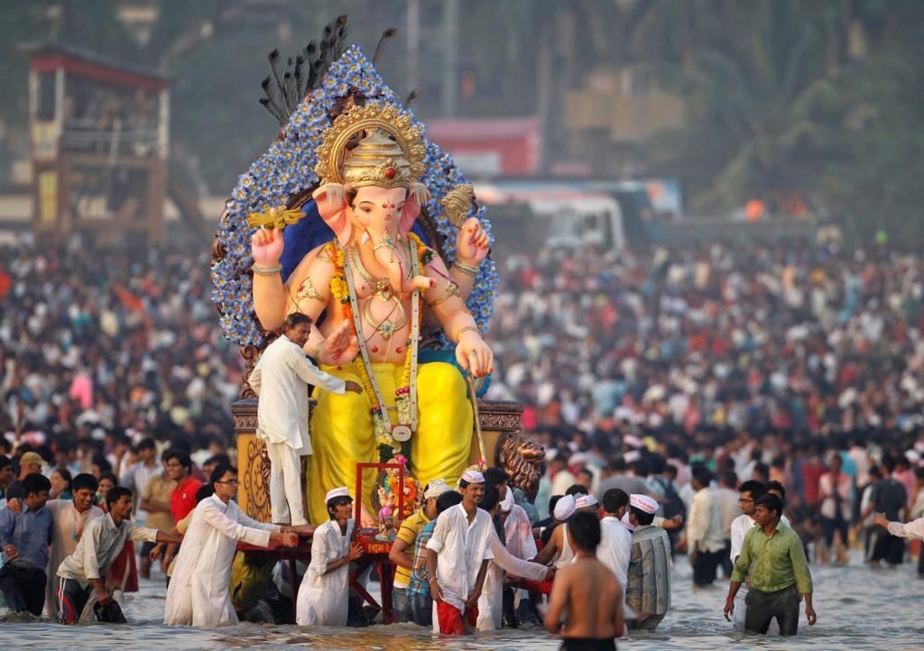 Ganesh Chaturthi Pune visarjan Ganesh Chaturthi Celebrations