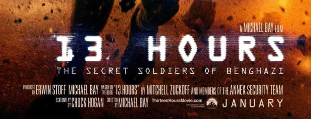 13 hours secret soldiers of benghazi movie 2016