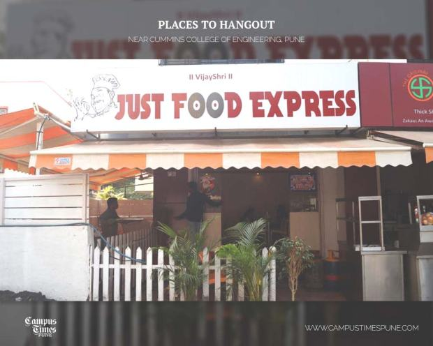 Just-Food-Express-Hangout-Places-near-Cummins-College-Karvenagar-Pune