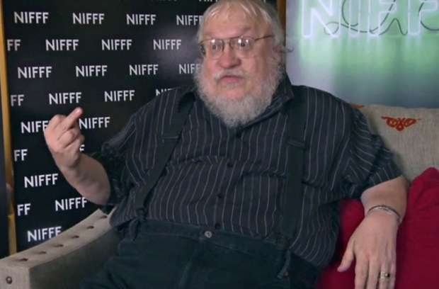 George RR Martin game of thrones author song of ice and fire