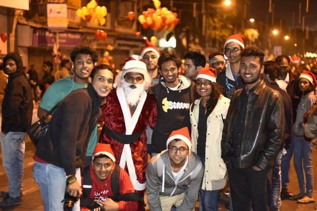 bmcc troika fc road santa pune college event