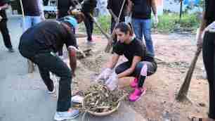 sania mirza cleanliness drive swachh bharat abhiyaan india narendra modi