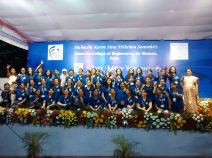 cummins college of engineering girls students pune