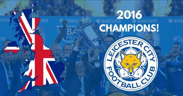 leicester City champions 2016 english premier league