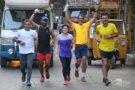 michelle kakade pune golden quadrilateral run attempt