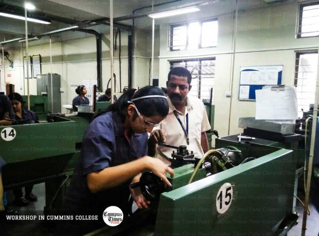 Mechanical-Workshop-Cummins-College-of-Engineering-Pune-Campus
