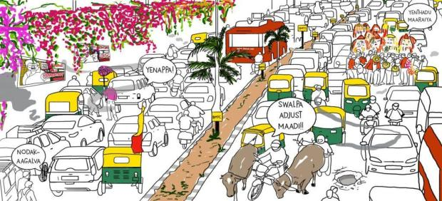 bengaluru traffic problems