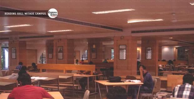 mit alandi reading hall campus images pune