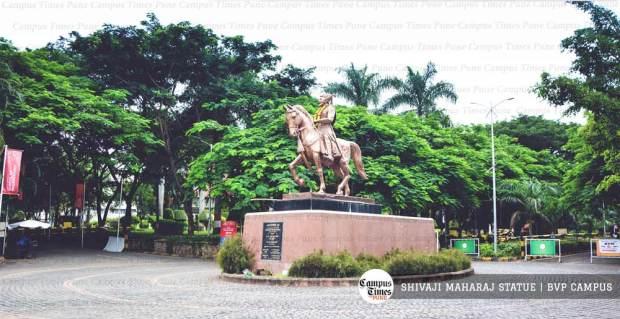 bvp-campus-images-shivaji-statue