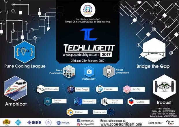 Event-Poster-PCCOE-Techlligent-2017