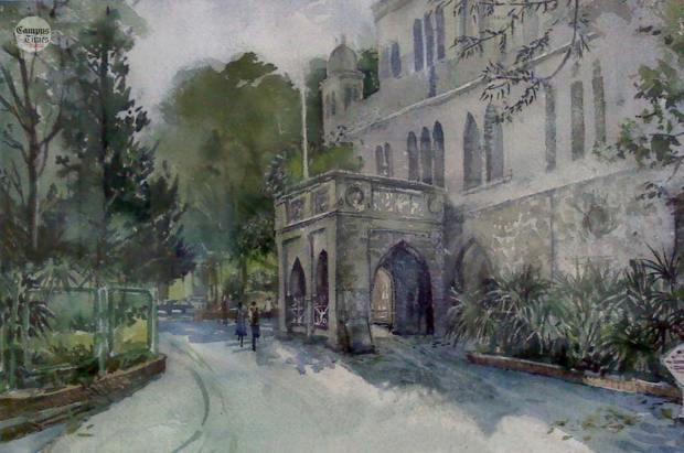 college-of-engineering-shivajinagar-pune-sketch