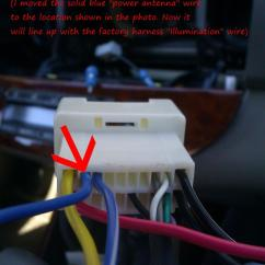 Metra Wiring Harness Toyota Qms Process Flow Diagram Aftermarket Radio Install Tip - Gen5 2003 Camry Utilizing Factory Jbl Amp Forums ...