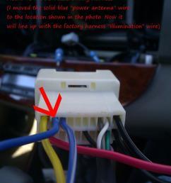 2921d1330658634 aftermarket radio install tip gen5 2003 camry utilizing factory jbl amp img 20120225 111721 aftermarket radio install [ 917 x 1163 Pixel ]