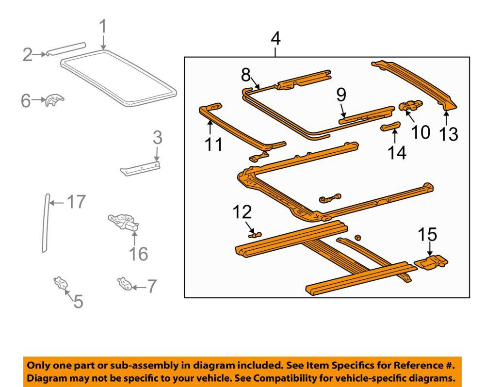 medium resolution of sunroof moonroof repair camry forums toyota camry forum 2003 camry sunroof wiring diagram