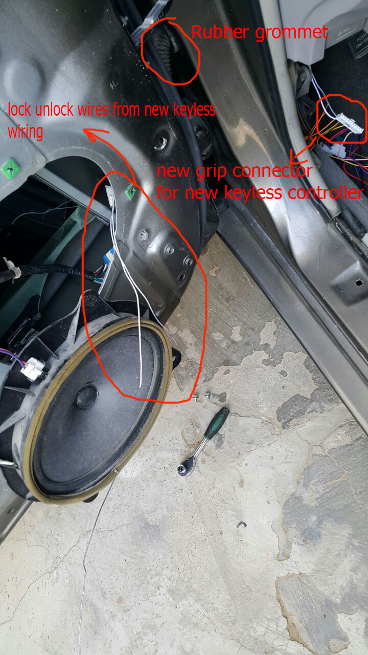 Use This Wiring Diagram If You Are Going To Check The Keyless Entry