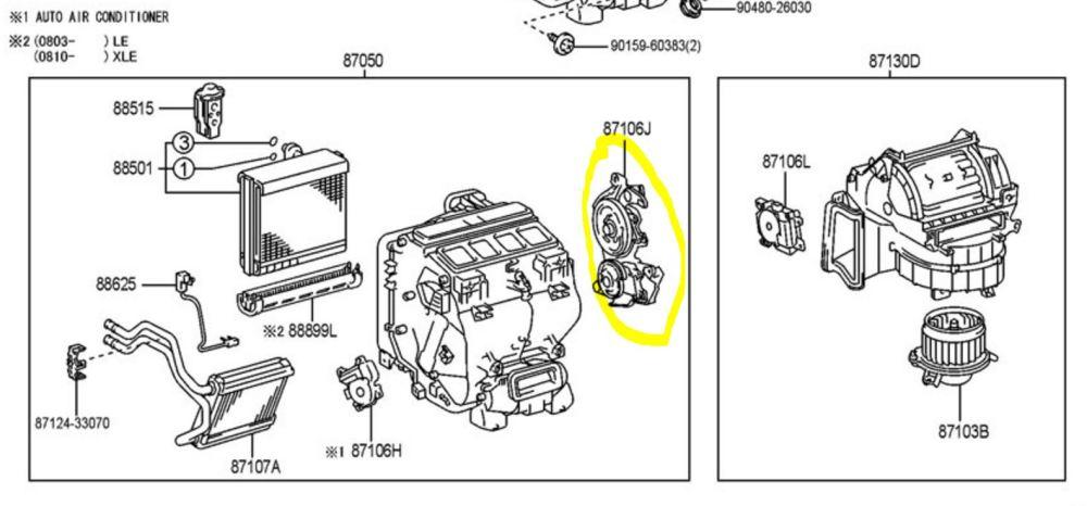 medium resolution of center heater ac vents no flow 08cam jpg