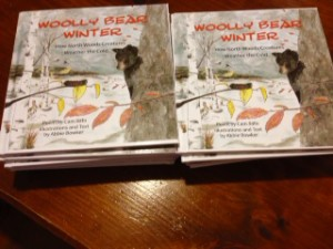 Woolly Bear off the press