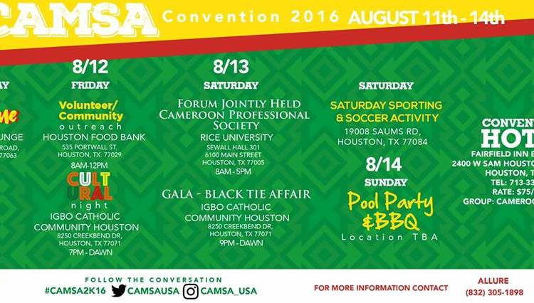 2016 Convention Program