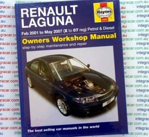 Renault Laguna II Petrol Diesel 20012007 Haynes Service