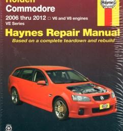 holden commodore ve series 2006 2012 haynes workshop repair manual [ 800 x 1016 Pixel ]