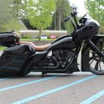 Blacked Out Road Glide Camtech Custom Baggers Bike Motorcycle Chopper