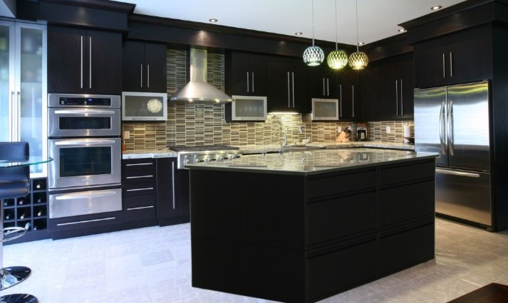 kitchen island granite top long curtains can-am islands & cabinets