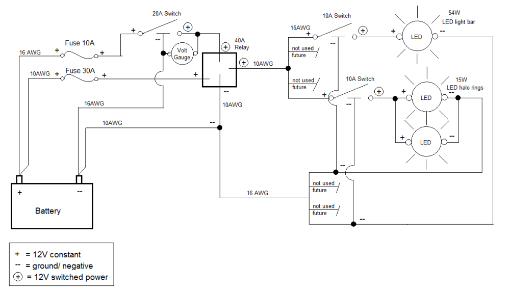 medium resolution of  auxiliary switch wiring with diagram and pics can am atv forum on adp diagram