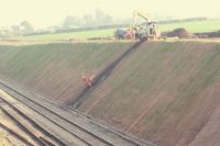 Slope drainage for slope stability