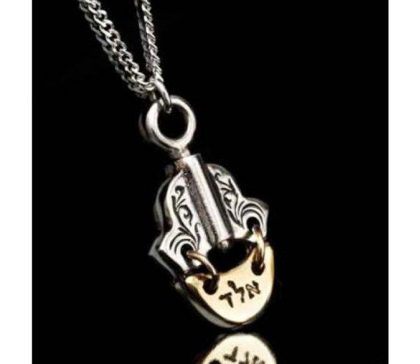 Kabbalah Hamsa Necklace Luck & Protection Haari
