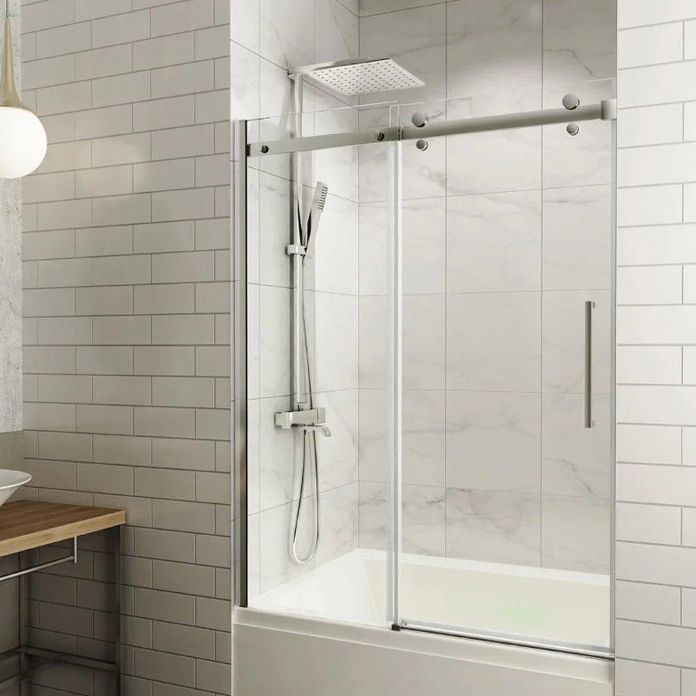 porte de bain douche coulissante seram
